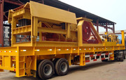 China mobile crusher for sale