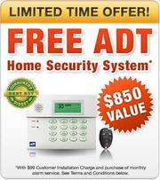 FREE Home Security System from ADT San Antonio