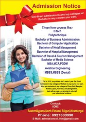 Admission in top colleges 2013