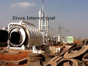 Used Tyre recycling plant manufacturnig.