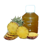 Pineapple juice concentrate with preservative