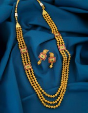 Exclusive Collection of Rani Haar Design at Best Price.